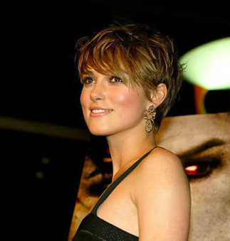 Great Excellent Keira Knightley Pixie Cut ~ Jere Haircuts