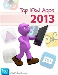 Top iPad Apps 2013 FREE eBook - Teq | Mobile learning for students and teachers | Scoop.it