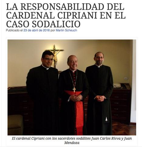 La 'ideología de género' de Cipriani & Cía. | MAZAMORRA en morada | Scoop.it
