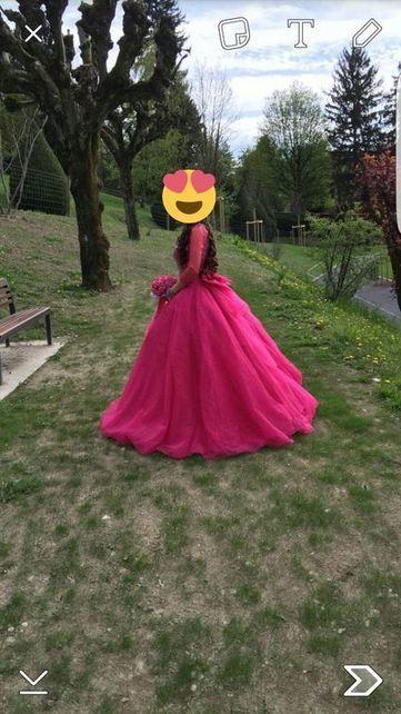 Robe fiancaille avec bouquet taille 34/36 - Isère | Robes de mariée d'occasion | Scoop.it