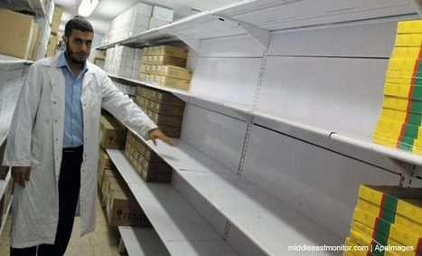 Gaza health ministry: One third of basic medicines no longer available | News in english | Scoop.it
