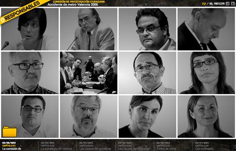 0 Responsables: Comisión de investigación ciudadana sobre el accidente de Metro Valencia de 2006 | Interactive & Immersive Journalism | Scoop.it