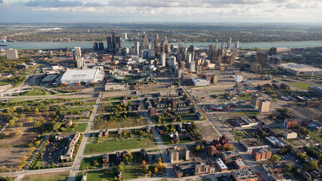 Detroit by Air | Walkerteach Geo | Scoop.it
