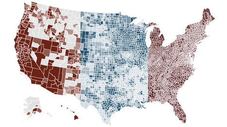Interactive Map: The Economy Where You Live | AP Human Geography Education | Scoop.it