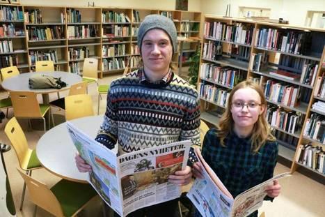Spångaelever ska få unga att inte tro på allt de läser | Skolbiblioteket och lärande | Scoop.it