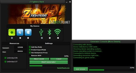 Z Fighters Hack iOS Android Cheats | Z fighters