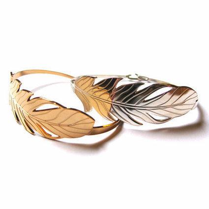 Le bracelet Plume, idée cadeau sur comptoirdesfilles.com - Comptoir des Filles | Comptoir des Filles | Scoop.it