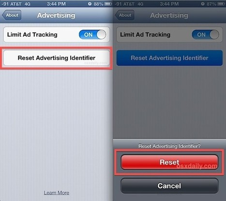 How (& Why) to Reset the Advertising Identifier in iOS | From the Apple Orchard | Scoop.it