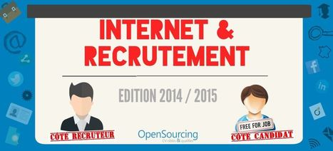Etude Internet & Recrutement 2015 | Opensourcing.fr | Scoop.it