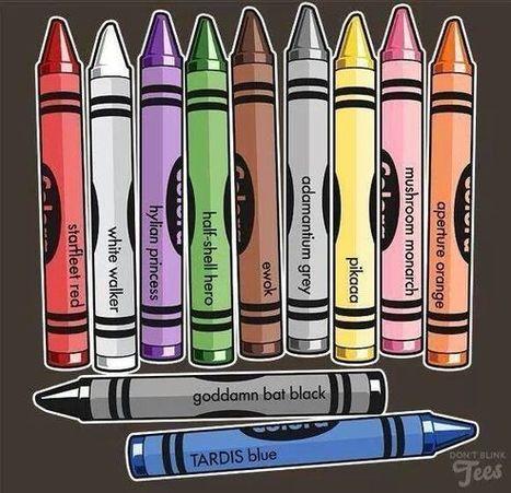 GEEKerly - Geek crayons   VI Geek Zone (GZ)   Scoop.it