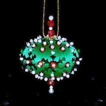 How to Make Your Own Beaded Ornaments In The House Of Sylvestermouse | Crafts & DIY | Scoop.it