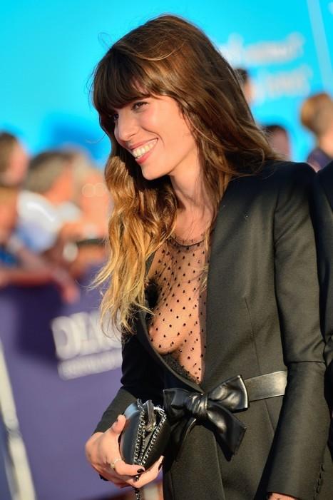 Photo : Oops le sein sexy de Lou Doillon au festival de Deauville 2013 !   Radio Planète-Eléa   Scoop.it