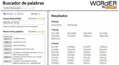 Buscador Palabras In Informatic Scoopit