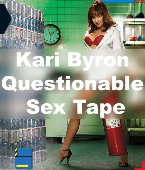 kari byron sex tape