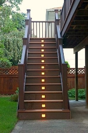 Outdoor Stair Lighting Fixture Design Ideas | Home Design and Furniture Design Gallery | What Surrounds You | Scoop.it
