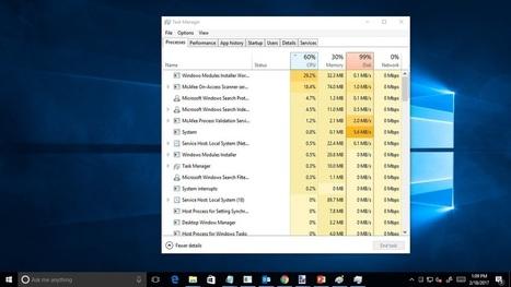 windows module installer high ram usage