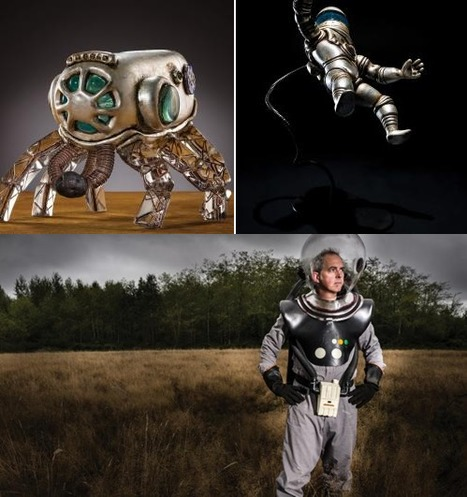 Rocket Man: a fascinating article from American Craft on the artist who uses science for inspiration | More Commercial Space News | Scoop.it