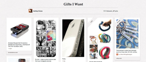 What Women Want For Christmas: Stuff They've Pinned | Pinterest Power | Scoop.it