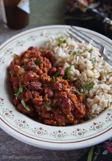 Easy Red Beans and Rice | My Vegan recipes | Scoop.it