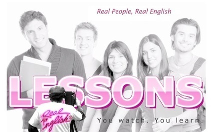 ESL - Real English Videos & Lessons. Completely Free! Real English is a Registered Trademark of The Marzio School. | Mobile Learning | Scoop.it