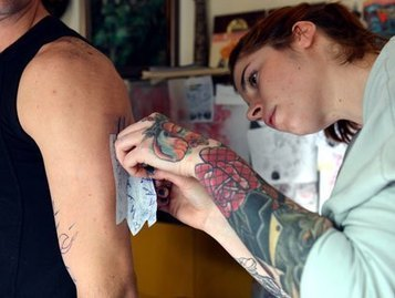 Is There A Connection Between Tattoos & SkinCancer? | Skin Deep | Scoop.it