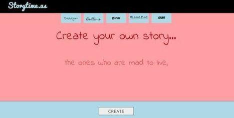Story Time Us, crea y comparte tus historias de forma sencilla | Herramientas web para contar historias - storytelling | Scoop.it