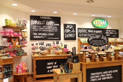 4f6deebee436f9 Lush ouvre son plus grand magasin sur Oxford Street
