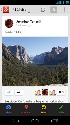 Google+ Update Delivers Redesign, Better 'Communities' Experience | Business Wales - Socially Speaking | Scoop.it