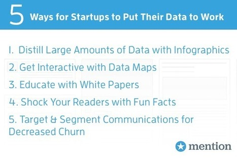 Data Marketing 101: How Startups Can Put Their Data to Work | Nonprofit Data Visualization | Scoop.it