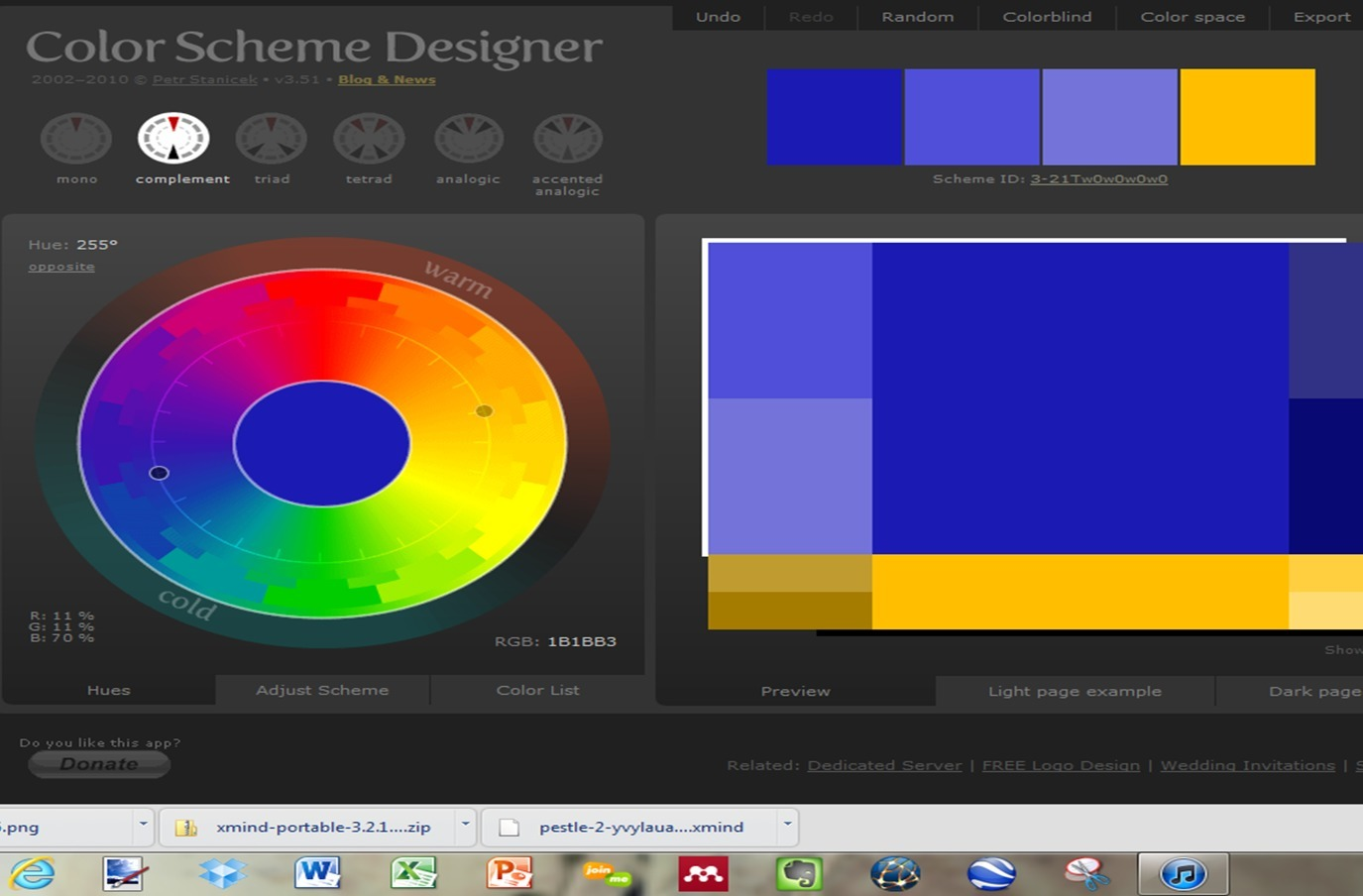 Color Scheme Designer color scheme designer 3 | learning21 | scoop.it