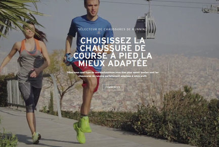 Chaussure In L'innovation Cuir La it Filière Dans Course' De Scoop r4qwESr