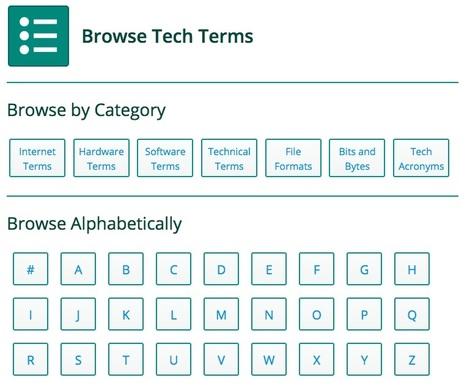 Browse Tech Terms | NOLA Ed Tech | Scoop.it