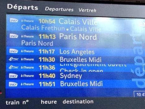 Tweet from @OlivierBossut1 | Mission Calais - SNCF Développement - le Cal'express - | Scoop.it