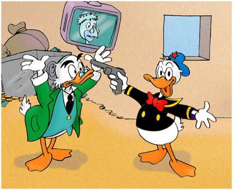 Anatra all'arancia meccanica. L'ultraviolenza è in libreria, quack!|Giap | DailyComics | Scoop.it