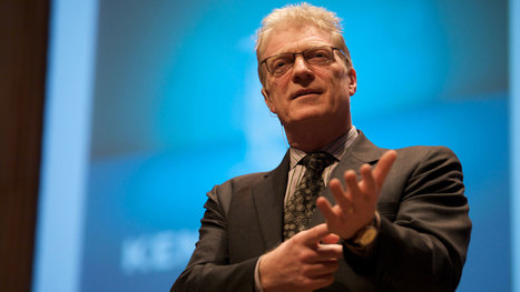 Sir Ken Robinson: Creativity Is In Everything, Especially Teaching | Creativity in English Language Teaching (EFL) | Scoop.it