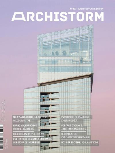 La Tour Saint-Gobain à l'honneur en couverture du magazine ARCHISTORM