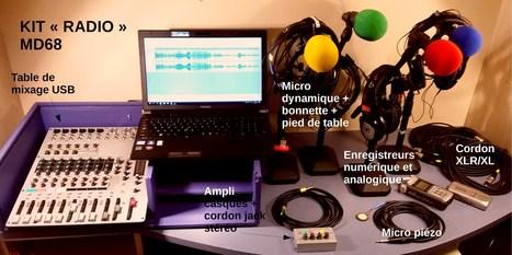 MAO en bibliothèque + kit «radio» MD68 | Musique en bibliothèque | Scoop.it