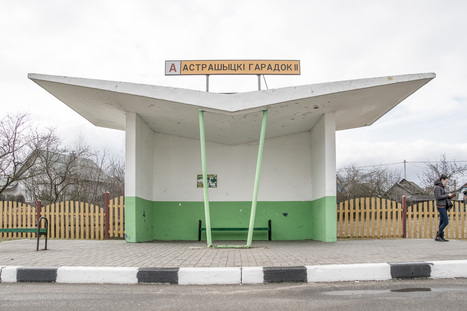 Christopher Herwig photographs space-age Soviet bus stops | Modern Ruins | Scoop.it