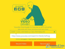 VideoGrabby : pour convertir et télécharger les vidéos de Youtube et + | Freewares | Scoop.it