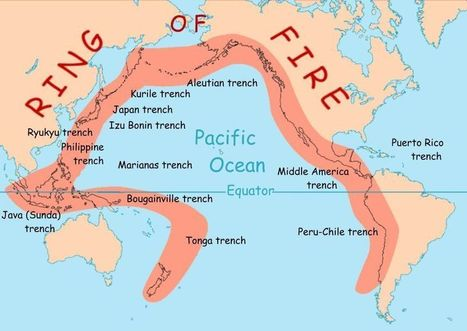 Ring of Fire | Geography Education | Scoop.it