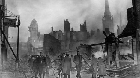 BBC - History - The Blitz (pictures, video, facts & news) | History Dept Guernsey Grammar School | Scoop.it