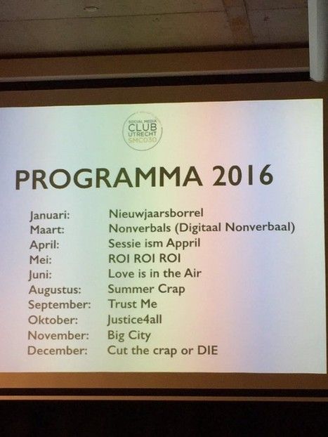[Event] 'Cut the Crap 2016', de Nieuwjaarsborrel van #SMC030 #verslag | Rwh_at | Scoop.it