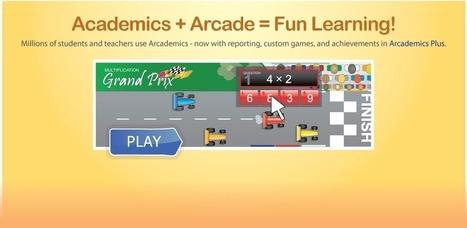 Arcademic Skill Builders: Online Educational Games   Learning Games   Scoop.it