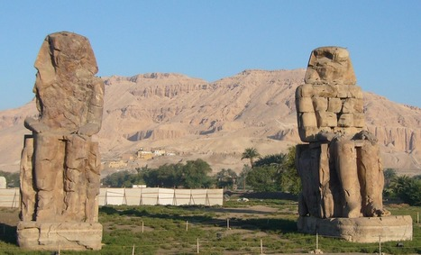 Une équipe d'archéologues allemands a découvert des pièces manquantes des célèbres Colosses de Memnon | oAnth's day by day interests - via its scoop.it contacts | Scoop.it