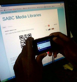 SABC Media Libraries: What do you do when you see a QR code? | The Information Professional | Scoop.it