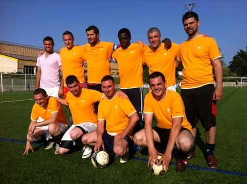Les Techni-Men en action au tournoi de foot de St Georges de Montaigu(85)