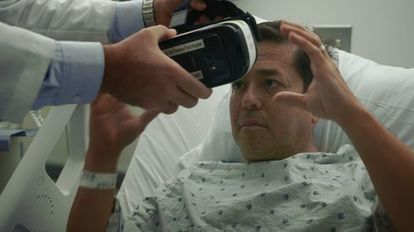 Hospitals Try Giving Patients a Dose of VR | Virtual Patients, VR, Online Sims and Serious Games for Education and Care | Scoop.it