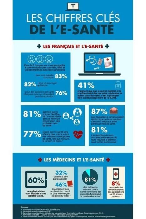 Les chiffres clés de l'e-santé   PHARMARAMA   Scoop.it