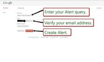 Free Technology for Teachers: How to Create Google Scholar Alerts | Källkritik och informationskompetens | Scoop.it