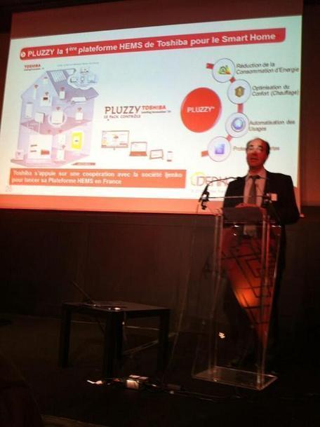 Avec Pluzzy, Toshiba France se lance dans la domotique « Abavala !!! | Développement, domotique, électronique et geekerie | Scoop.it